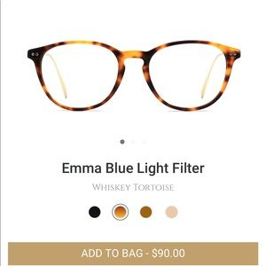 Blue Light Glasses NWT